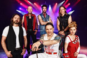 """The Queen Kings """"More than just a tribute"""" Live in der Kulturhalle Dormagen am 29.04."""