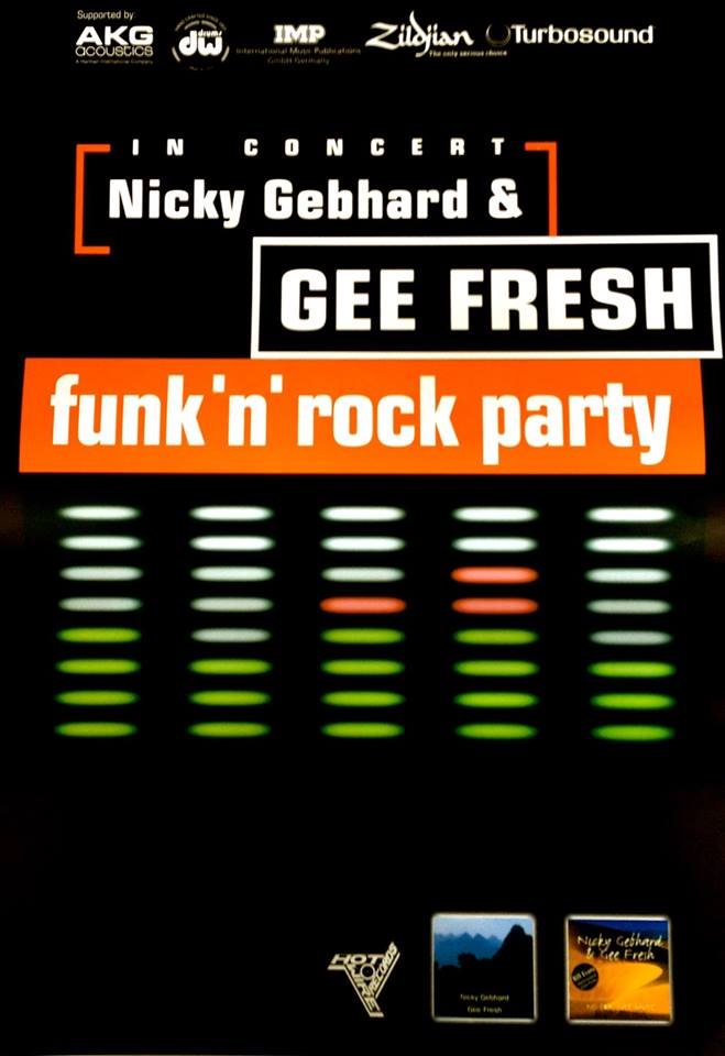 Nicky Gebhard & Gee Fresh Live On Tour - 2017 am 10.03. im Pink Panther Dormagen