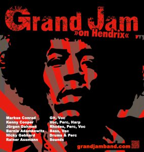 Grand Jam on Hendrix 2017 Live in Dormagen im Pink Panther am 23.09.2017