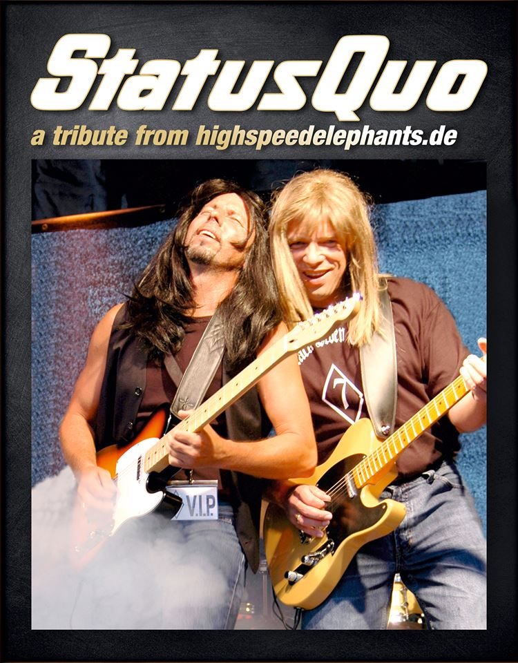 Highspeed Elephants Status Quo-Coverband unplugged Live im Pink Dormagen