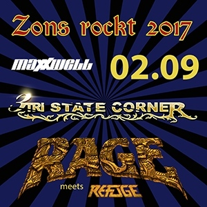 Line Up Tag 2 Zons rockt 2017