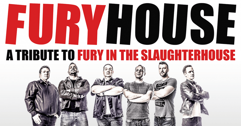 Furyhouse (A Tribute To Fury In The Slaughterhouse) Live im Pink Dormagen